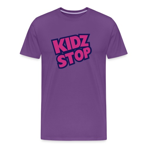 kidz stop 2color - Men's Premium T-Shirt