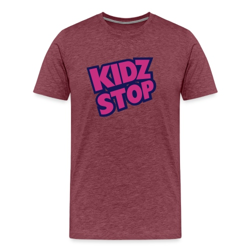 kidz stop 2color - Men's Premium T-Shirt