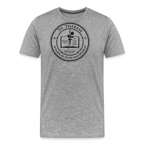 STS School Crest lineart png - Men's Premium T-Shirt