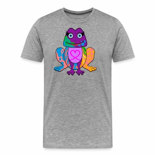 I heart froggy - Men's Premium T-Shirt