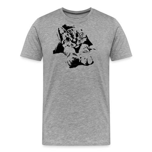 With Transparent Background - Men's Premium T-Shirt