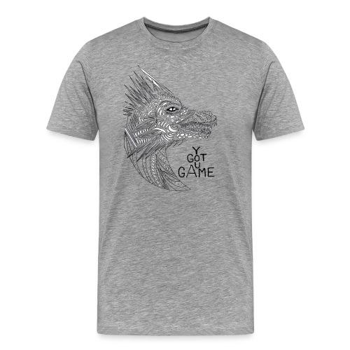 "Dragon ""you got game"" - Men's Premium T-Shirt"