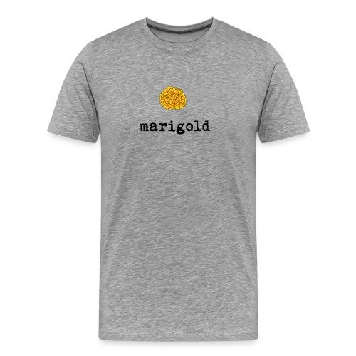 Marigold (black text) - Men's Premium T-Shirt