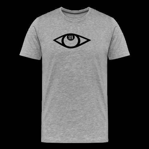 Syn logo black - Men's Premium T-Shirt