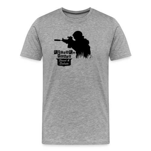SPECIAL RT LOGO SHOOTER - Men's Premium T-Shirt