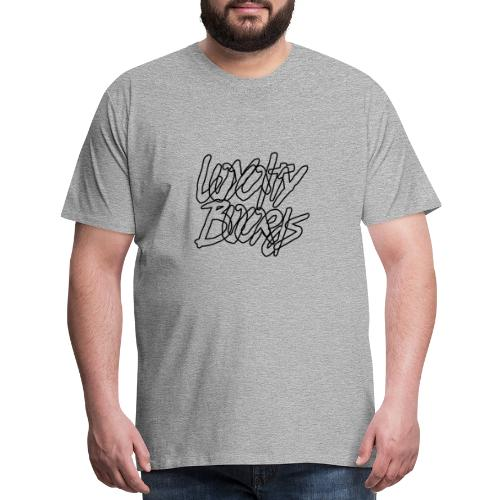 Loyalty Boards Black Font - Men's Premium T-Shirt