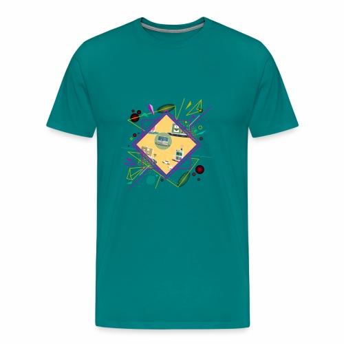 crypto clothing computer connecting - Men's Premium T-Shirt