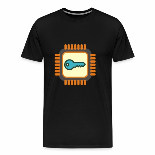 Micro Crypto Chip - Men's Premium T-Shirt