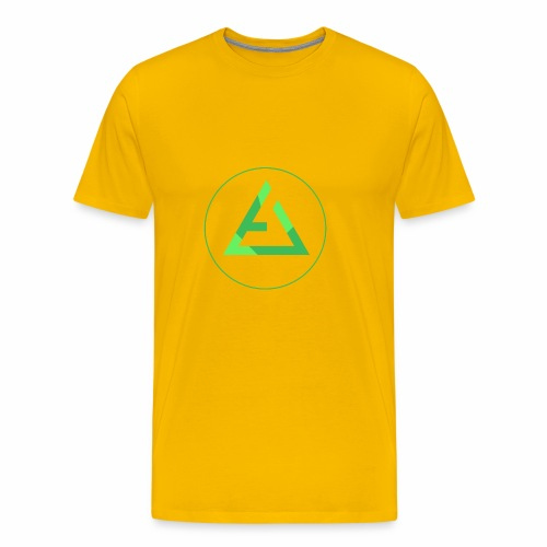 crypto logo branding - Men's Premium T-Shirt