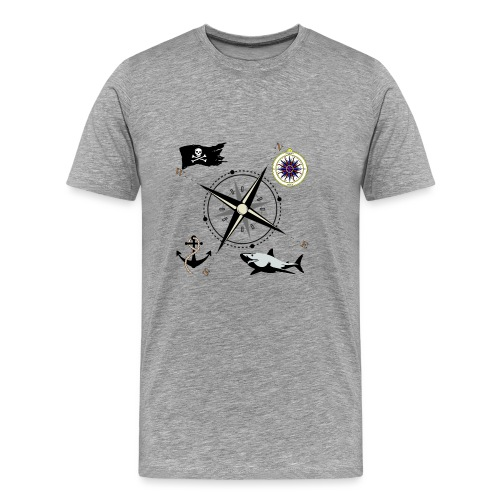 Nautical Designs - Men's Premium T-Shirt