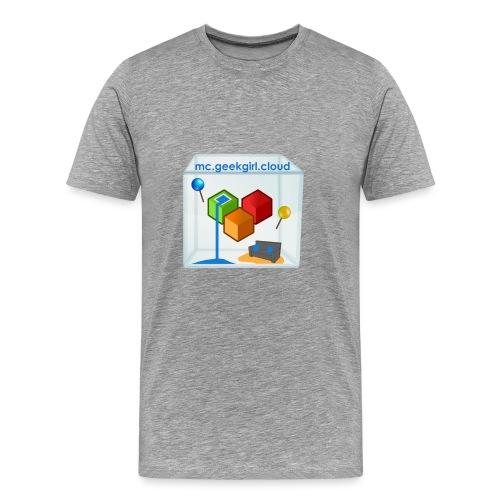 geekgirl.cloud logo - Men's Premium T-Shirt