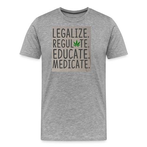 Legalize - Men's Premium T-Shirt