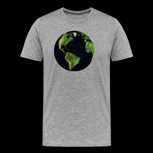 Galactic Earth - Men's Premium T-Shirt