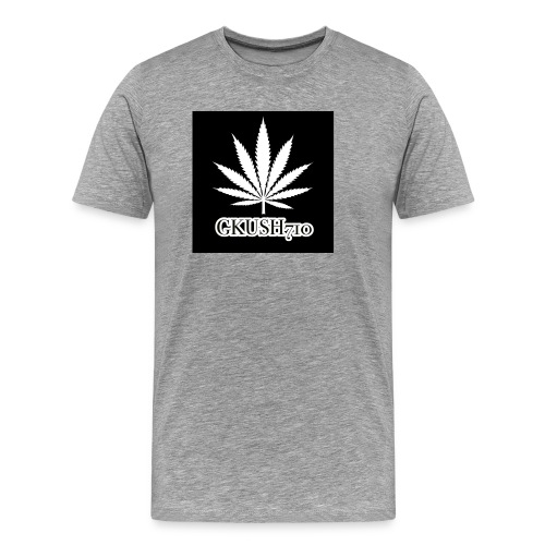 Weed Leaf Gkush710 Hoodies - Men's Premium T-Shirt