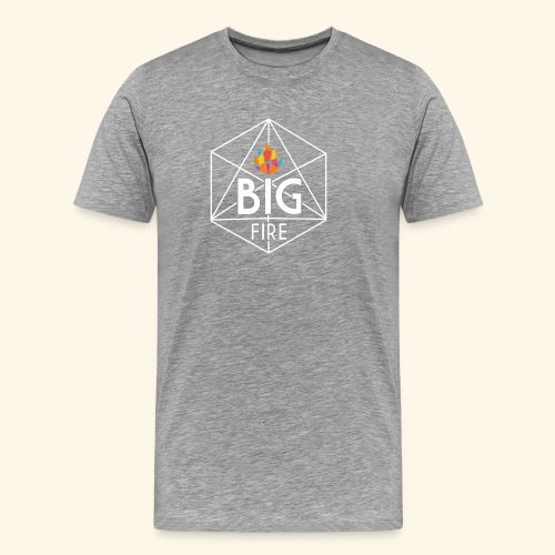BiG Fire 2018 White - Men's Premium T-Shirt