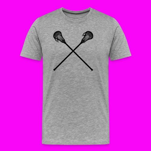 Lacrosse - Men's Premium T-Shirt