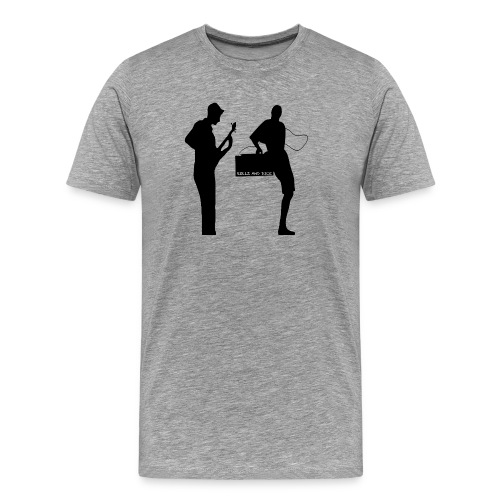 Rollz and Dice Logo BLACK - Men's Premium T-Shirt