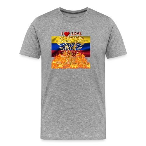 Venezuela reborn - Men's Premium T-Shirt