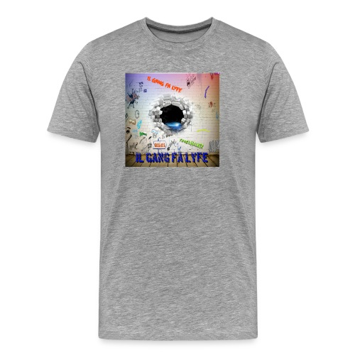 Wall demo - Men's Premium T-Shirt