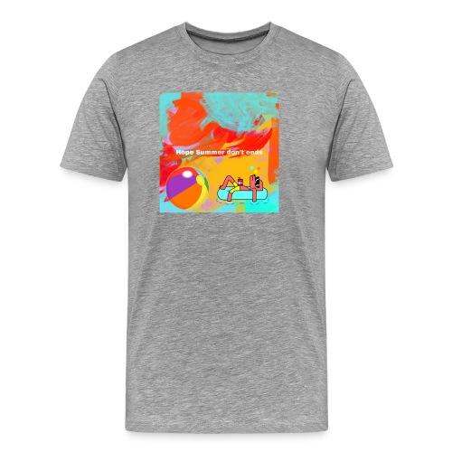 Hope summer don't ends - Men's Premium T-Shirt