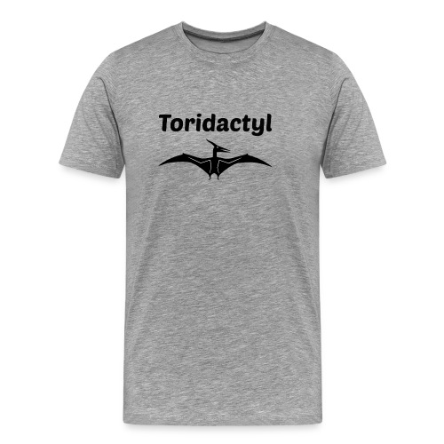 Tori Davis Black Toridactyl Merch Design - Men's Premium T-Shirt