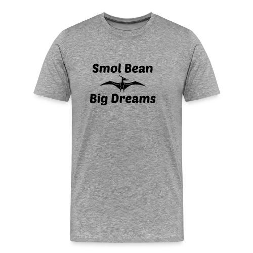 Tori Davis Smol Bean Big Dreams Black Merch Design - Men's Premium T-Shirt