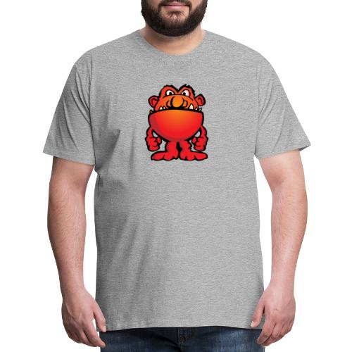 Cartoon Monster Alien - Men's Premium T-Shirt