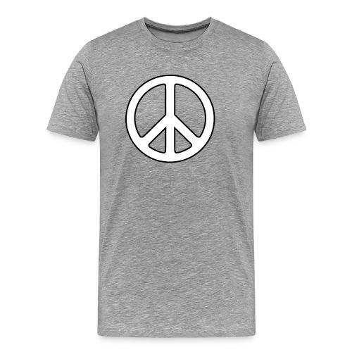 Peace Symbol PNG Image - Men's Premium T-Shirt