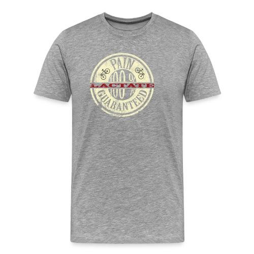 Lactate1grungebeige - Men's Premium T-Shirt