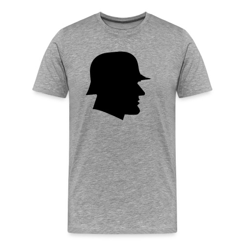 Soldier silhouette - Men's Premium T-Shirt