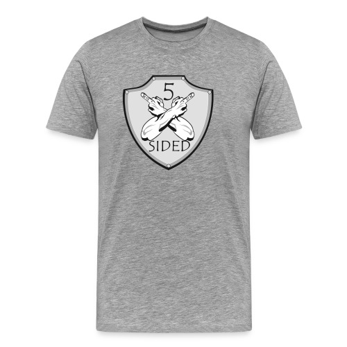 5 sided x 3 - Men's Premium T-Shirt
