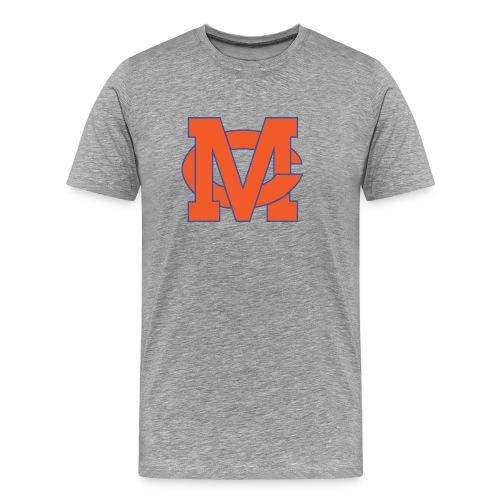 interlocking MC vector - Men's Premium T-Shirt