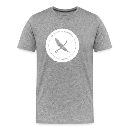 White Transparent - Men's Premium T-Shirt