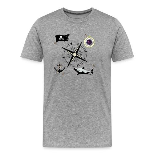 Nautical Designs - Men's Premium T-Shirt