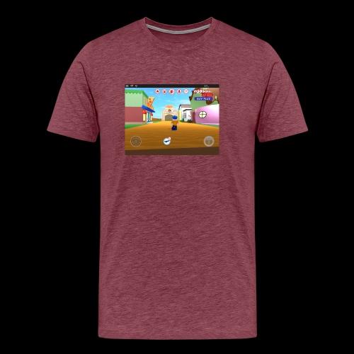 Roblox meep city - Men's Premium T-Shirt