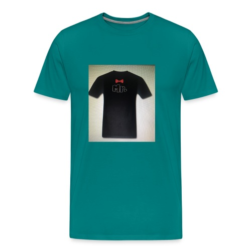 Mr and Mrs t-shirt - Men's Premium T-Shirt