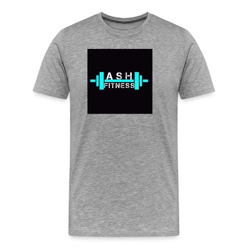 ASH FITNESS ACCESSORIES - Men's Premium T-Shirt