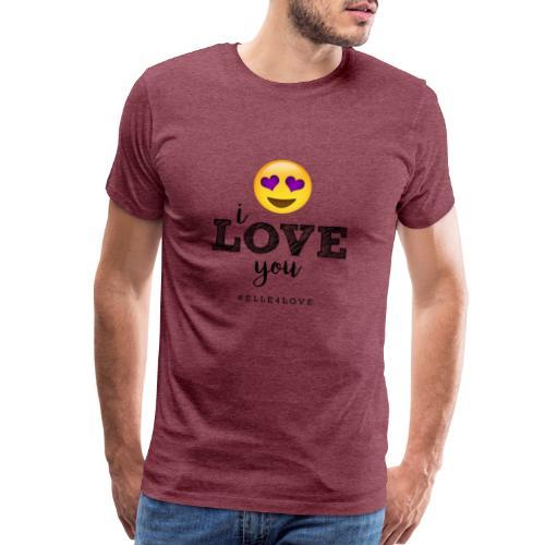 I LOVE you - Men's Premium T-Shirt