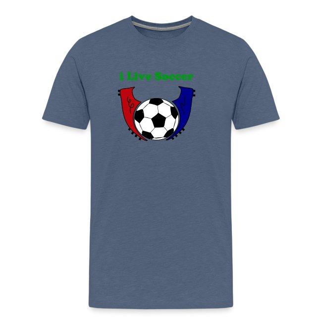 i live soccer shirt