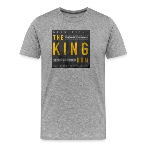 Seek The Kingdom - Men's Premium T-Shirt