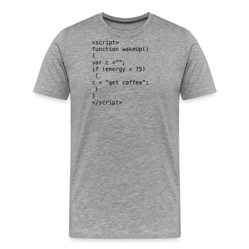 JavaScript - Men's Premium T-Shirt