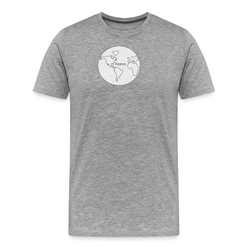 Earth is Home - Men's Premium T-Shirt