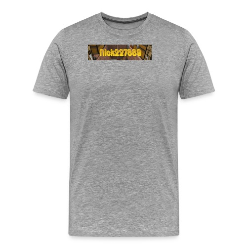 Nick227889 Logo! - Men's Premium T-Shirt
