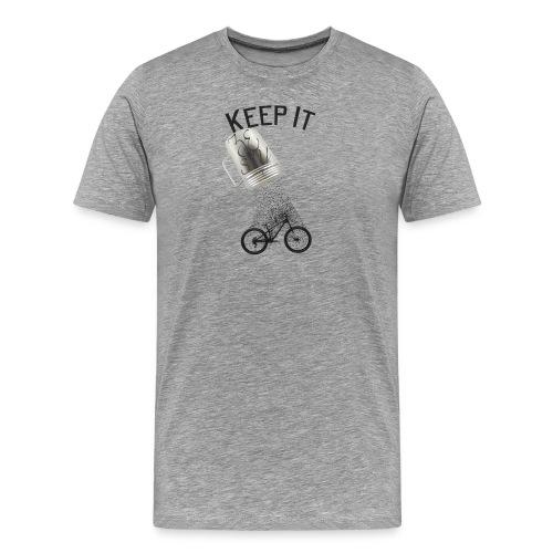 Keep It Zesty! Tie-Dye Tee - Men's Premium T-Shirt