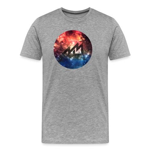 Space MrMan2247 Logo - Men's Premium T-Shirt
