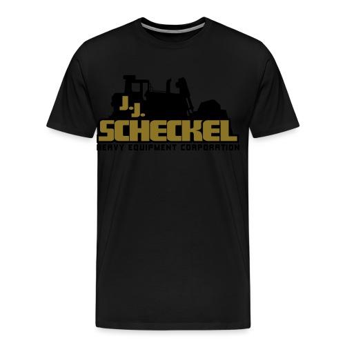 jjscheckelstacked - Men's Premium T-Shirt