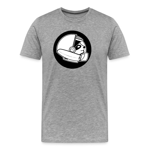 Space Sloth Logo - Men's Premium T-Shirt