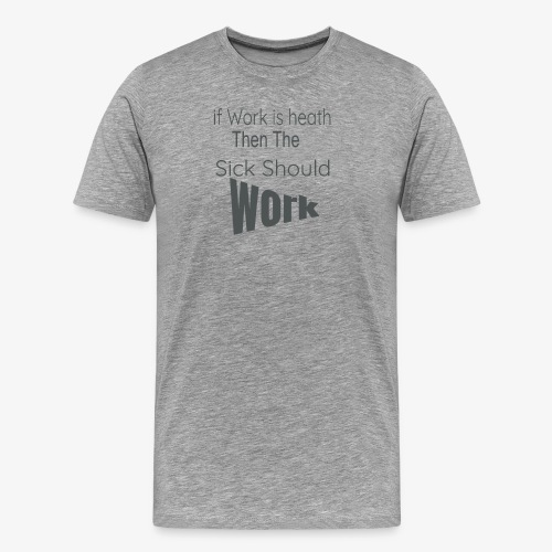 funny produc desinf for nurse and doctor day off, - Men's Premium T-Shirt