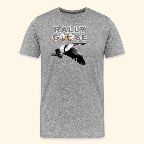 Detroit Rally Goose Baseball Lucky Charm Design - Men's Premium T-Shirt