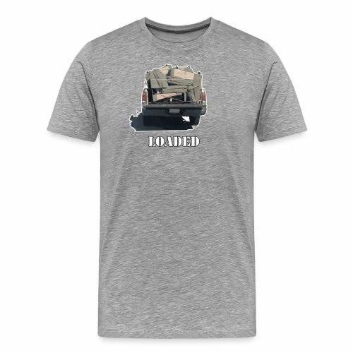 Truck Loaded with Sofa - Men's Premium T-Shirt